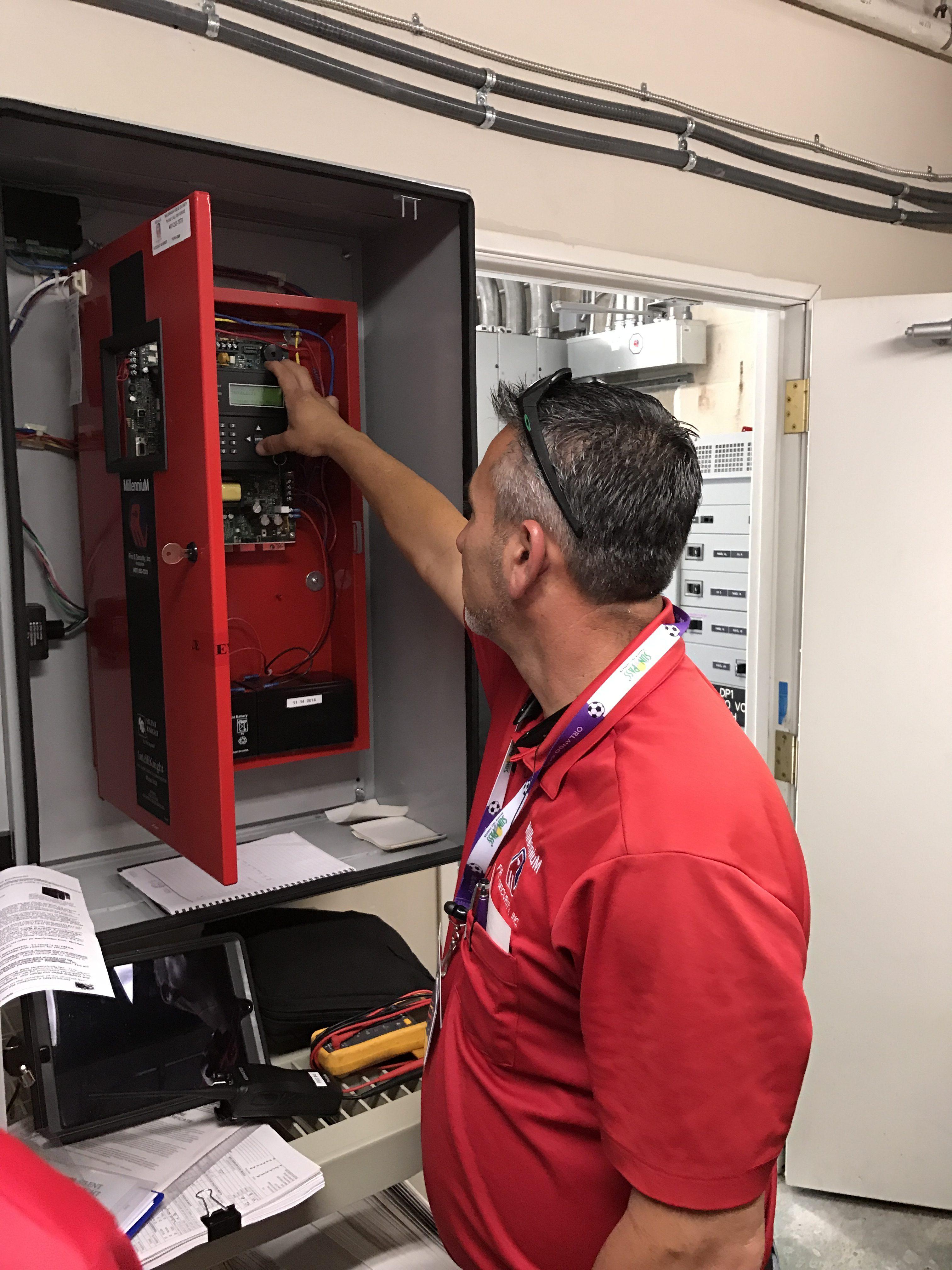 Img E on Fire Alarm Circuit